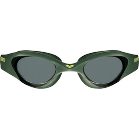arena The One Goggles, smoke-deep green-black